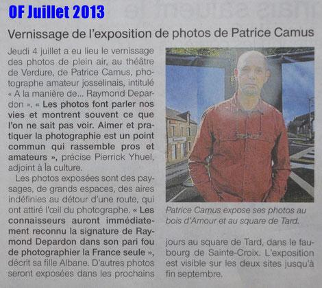 OF Juillet 2013