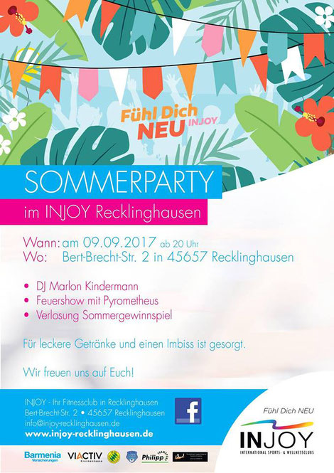 Sommerfest, Injoy, Recklinghausen, Feuershow, Pyrometheus, Feuer, Flammen,