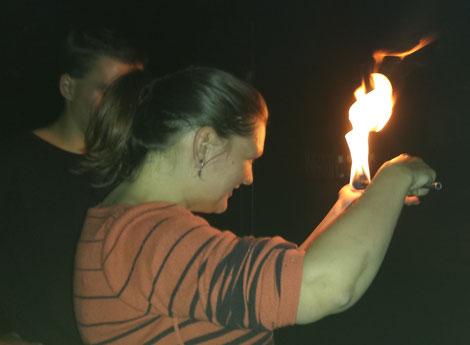 Feuerworkshop, Pyrometheus, Mitmachaktion, Event, Feuer, Flammen, Recklinghausen, Ruhrgebiet