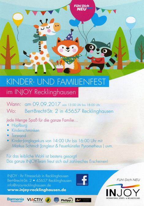 Pyrometheus, Jonglage, Sport, Injoy, Recklinghausen, Kinder, Familie, Fest