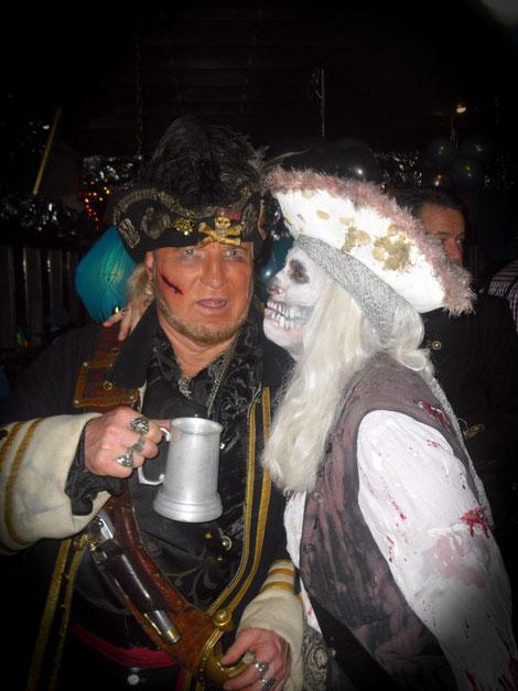 John Silver mit Bloody Melly