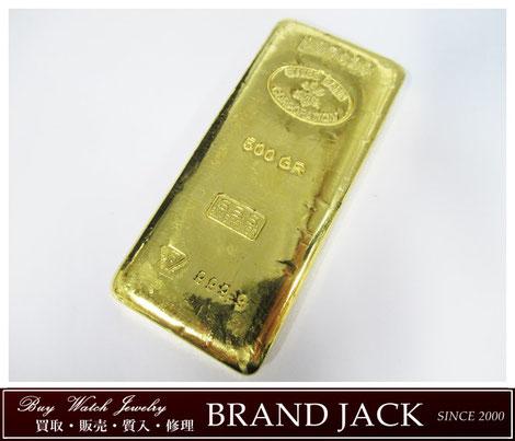 スイスバンク インゴット 純金500g K24を仙台で高額買取