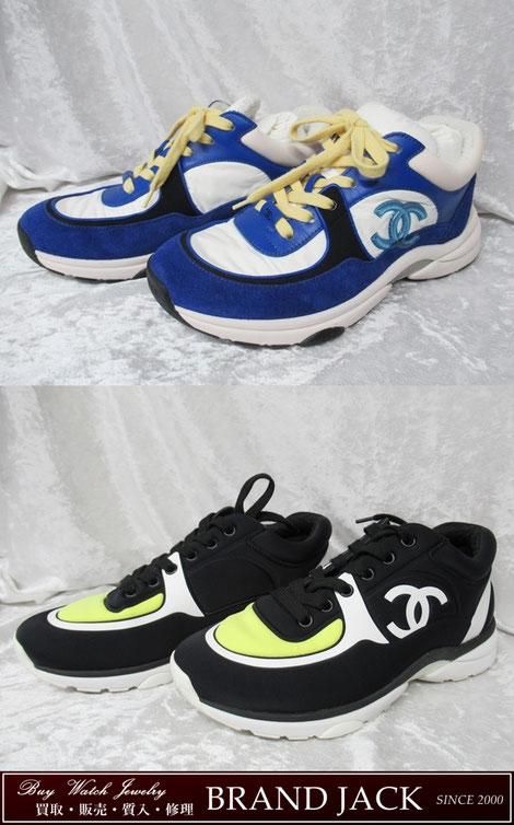 シャネル ココマーク スニーカー G34360 G34765 靴