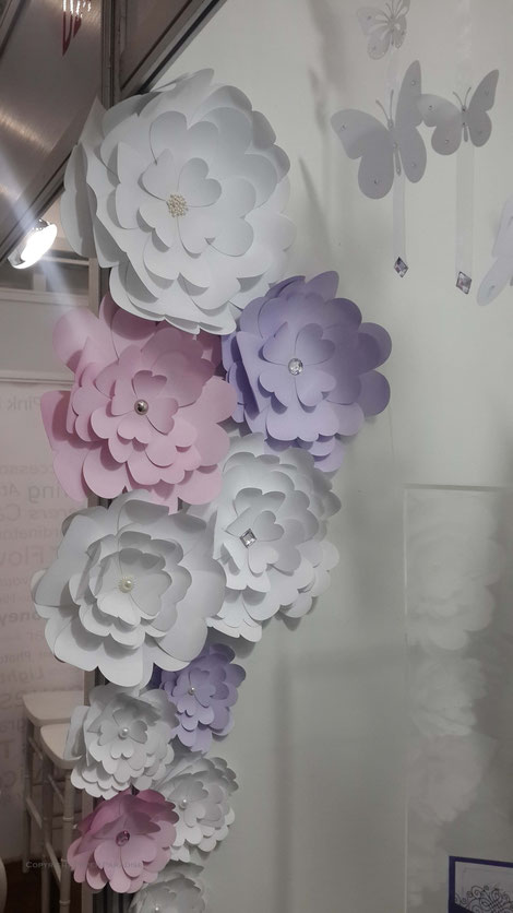 Paper Flowers made by hand