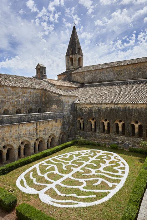 """Anima Mundi"", Anne & Patrick Poirier, Abbaye du Thoronet © Jeanchristophe Lett / Centre des Monuments Nationaux"