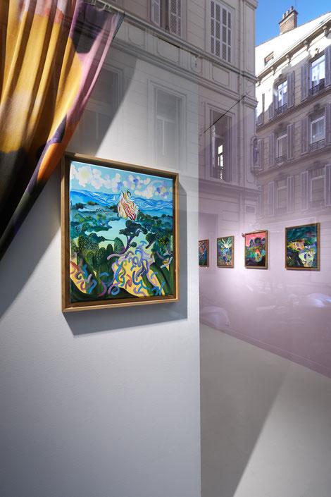 """Florent Groc, """"Pourvu que ça dure"""", Galerie Double V, Marseille © Jeanchristophe Lett"""