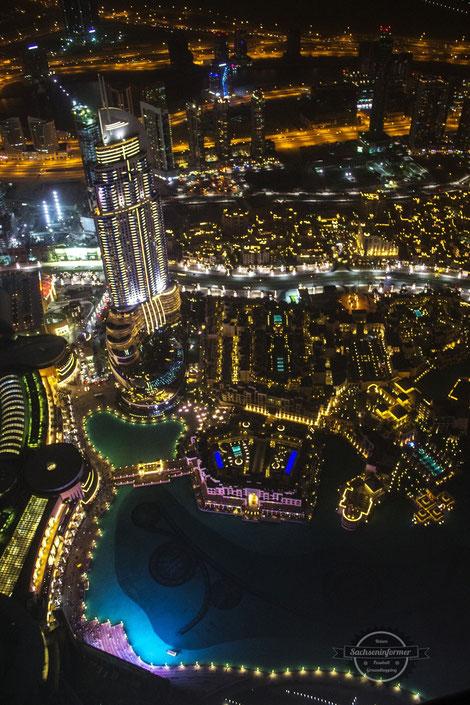 Burj Khalifa Dubai Mall Downtown Vereinigte Arabische Emirate