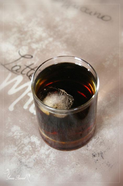 Verre de Whisky-coca