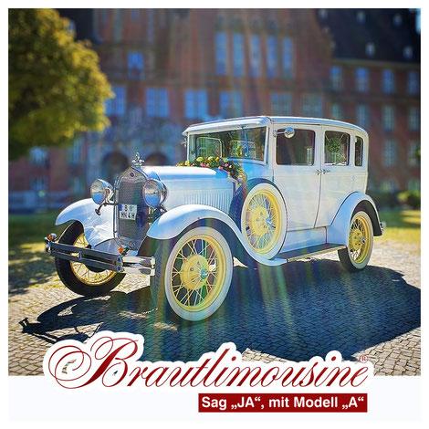 Brautlimousinen, Oldtimer für Ihre Hochzeit mieten, Ford A