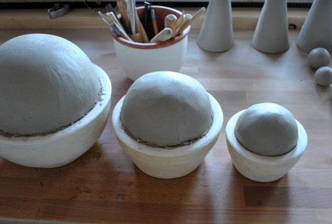 Gartenkeramik - neue Ware in Vorbereitung