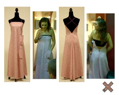 Vue sur Zaz : la robe Pink Gingham! (émission 66 minutes, diffusée le 31/10/2010 à 17h30 sur M6) – avec Zaz.
