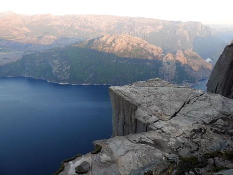 Noewegischer Fjord