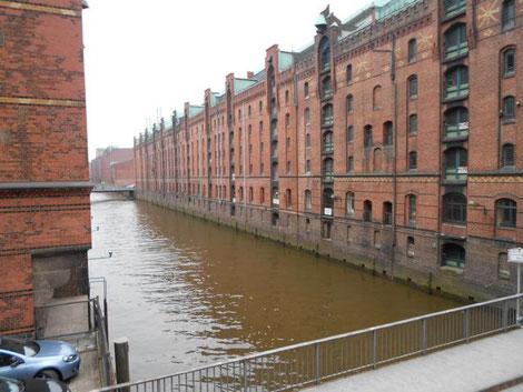 Fleet in Hamburg