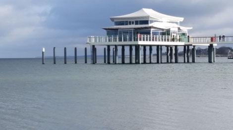 Teehaus auf der Seebrücke