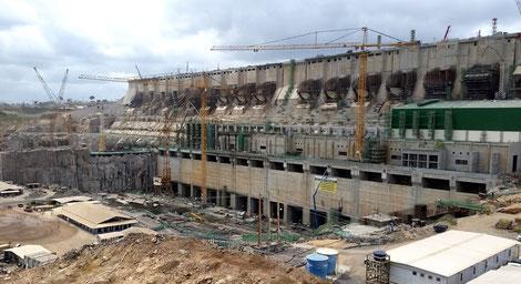 """""""Belo Monte Wasserkraftwerk"""" von Pascalg622 - Eigenes Werk. Lizenziert unter CC BY 3.0 über Wikimedia Commons - https://commons.wikimedia.org/wiki/File:Belo_Monte_Wasserkraftwerk.jpg#/media/File:Belo_Monte_Wasserkraftwerk.jpg"""