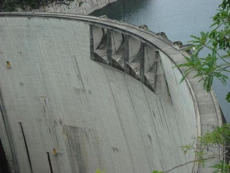 Staudamm in Honduras