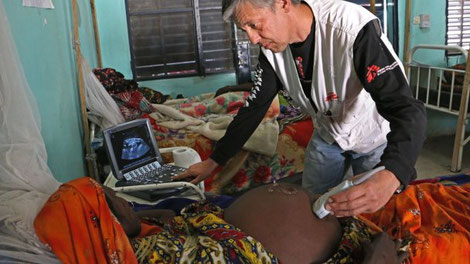 Ärzte ohne Grenzen Arbeitsalltag