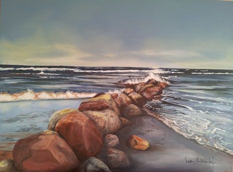 Ostsee in Acryl