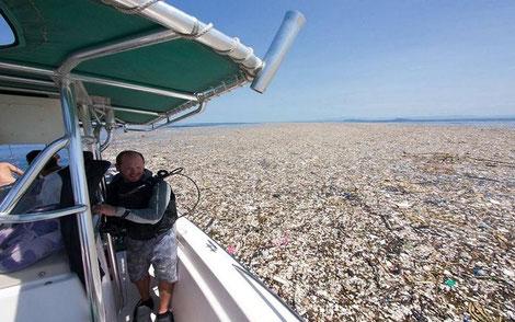 Müll in der Karibik