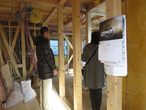 狭小3階建て木の家構造見学会