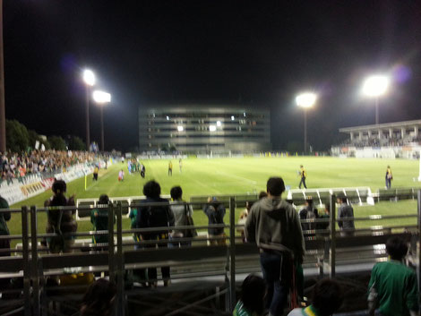 2012/10/14 FC岐阜vsモンテディオ山形 長良川球技メドウ