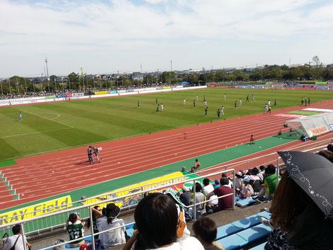 2013/9/22 FC岐阜vsガイナーレ鳥取 大垣市浅中公園総合グラウンド陸上競技場