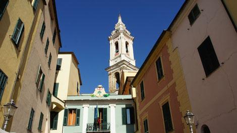 Dolcedo, Piazza Andrea Doria