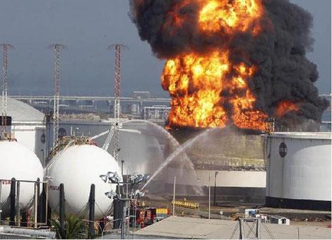auditorias accidentes rayos en ambientes de atmosferas explosivas