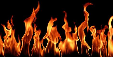Abb. Flammen