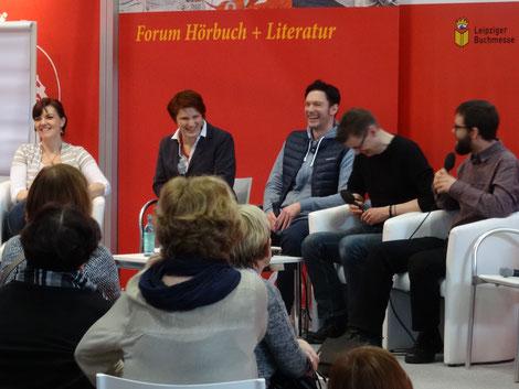 Hörspielpräsentation auf der Buchmesse in Leipzig