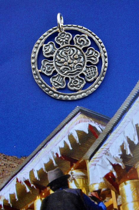 8Münzsägewerk Katrin Thull | Tibet - 8 Glückssymbole