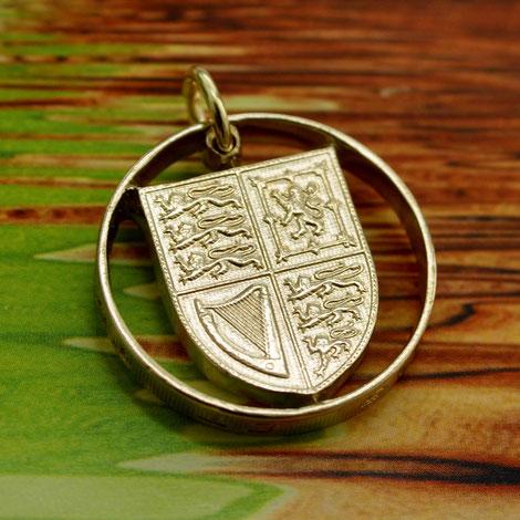 Münzsägewerk Katrin Thull | Großbritannien - Wappen