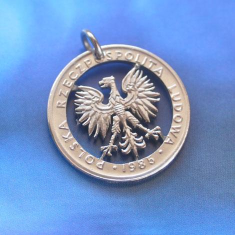 Münzsägewerk Katrin Thull | Polen - Wappenadler