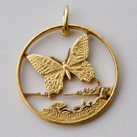 Münzsägewerk Katrin Thull | Polen - Schmetterling