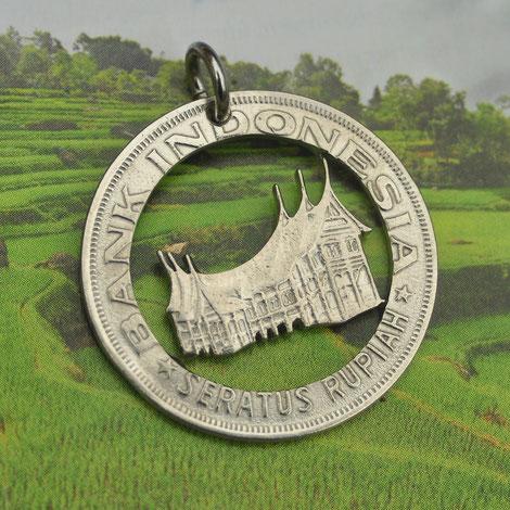Münzsägewerk Katrin Thull | Indonesien - Haus