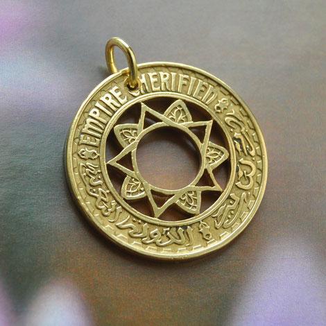 Münzsägewerk Katrin Thull | Marokko - Stern Ornament