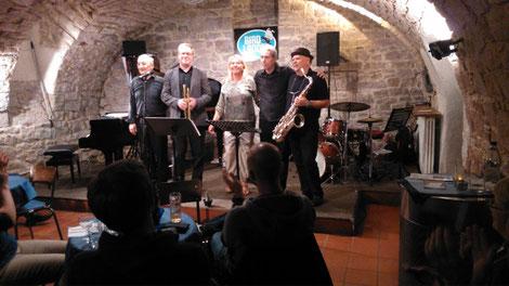 Andreas Hertel Trio faet. Tony Lakatos + Axel Schlosser Ettlingen