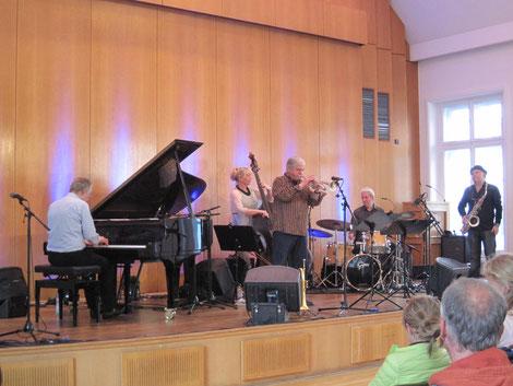 Andreas Hertel Trio+Lakatos, Goykovich bei der Jazzrally Düsseldorf 2016