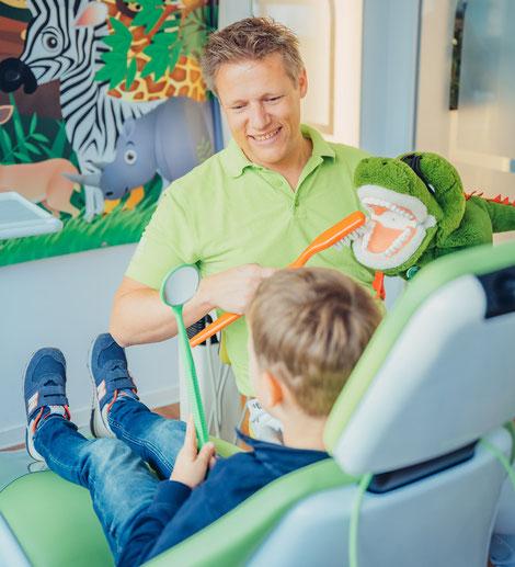 Kinderbehandlung - Dr. Rathgeber Aalen