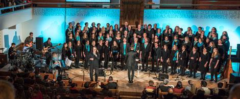 """GiW-Konzert 19. November 2017 Buchs """"Total Praise"""""""