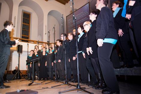 Gospel im Werdenberg Konzert 9.Nov.2014 Buchs