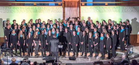 "GiW 16-2 Konzert 20. Nov. 2016 Buchs  ""Amazing Grace"""