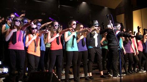 Jugendchor Seetal Show Konzert Seetal Sängerverband