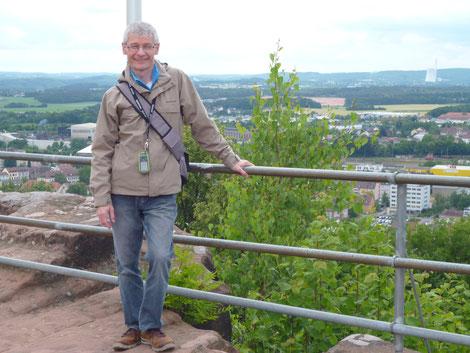 Auf der ehemaligen Hohenburg in Homburg/Saar