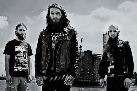 Implore Band Grindcore Deathmetal Hamburg Metal live Gabriel Dubko