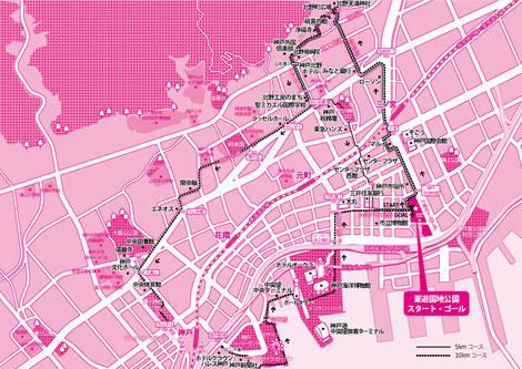 神戸イラストマップ
