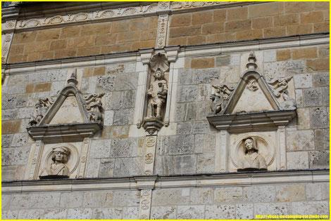 La même façade après rénovation...