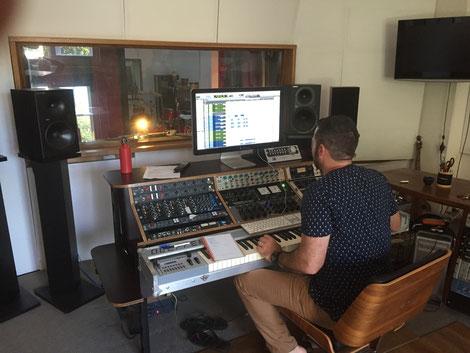 In The Studio Recording Rock Woman Mini Album 2017