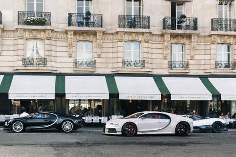 Les Merveilles Parisiennes 2018 - Bugatti Chiron Pagani Zonda Riviera Paris