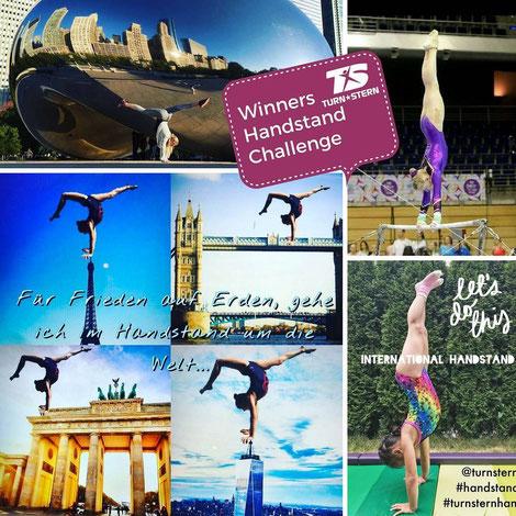 Gewinner International Handstand Day - Wettbewerb